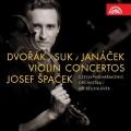 CDŠpaček Josef / Dvořák,Suk,Janáček / Violin Concertos