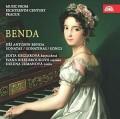 CDBenda J.A. / Sonatas / Keglerová / Brouková / Zemanová