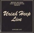 2LPUriah Heep / Live'73 / Vinyl / 2LP