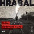 2CDHrabal Bohumil / Ostře sledované vlaky / 2CD / Plesl J.