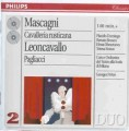 2CDMascagni Pietro / Cavalleria Rusticana / Pagliacci / 2CD
