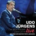 2CDJürgens Udo / Das letzte Konzert / Zurich 2014 / Live / 2CD