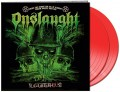 2LPOnslaught / Live At The Slaughterhouse / Vinyl / Red / 2LP