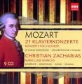 9CDMozart / 21 Klavierconcerte / Cristian Zacharias / 9CD