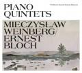 CDWeinberg Mieczyslav & Bloch Ernest / Piano Quintets