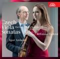 CDFialová/Ardašev / Czech Viola Sonatas / Martinů,Feld,Kalabis