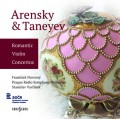 CDArenskij/Tanějev / Romantické houslové koncerty