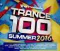 4CDVarious / Trance 100 / Summer 2016 / 4CD