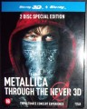 3D Blu-RayMetallica / Through The Never / 3D+2D Blu-Ray / bez titulků