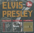 3CDPresley Elvis / Rock'n'Roll Hero / Elvis'56 / 30#1 Hits / 3CD
