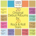 10CDVarious / 20 Original Debut Albums By 20 Rock & Roll Stars / 10C
