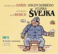 2CDHašek Jaroslav / Osudy dobrého vojáka Švejka / Jan Werich / 2CD