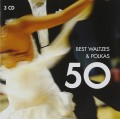 3CDVarious / 50 Best Waltzes & Polkas / 3CD