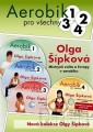 4DVDSPORT / Aerobic pro všechny 1-4 / Olga Šípková / 4DVD