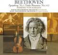 LPBeethoven / Symphony No.2 / Violin Romances No.1&2 / Karajan / Vinyl
