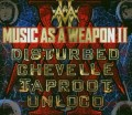 CD/DVDVarious / Music As Weapon II / Disturbed / Tarpoot / ... / CD+DVD