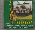 CDSebranka / Písničky o muzikantech,řemeslech,hospůdkách a koníc