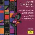 2CDMahler / Symphonies Nos.2 & 4 / 2CD / Abbado