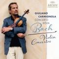 CDBach J.S. / Violin Concertos / Carmignola