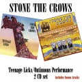 2CDStone The Crows / Teenage Licks / Ontinuous Performance / 2CD
