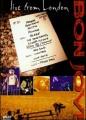 DVDBon Jovi / Live From London
