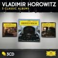 3CDHorowitz Vladimir / 3 Classic Albums / 3CD / Paperpacks