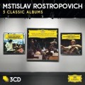 3CDRostropovich Mstislav / 3 Classic Albums / 3CD / Paperpacks