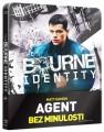 Blu-RayBlu-ray film /  Agent bez minulosti / Steelbook / Bourne Identity