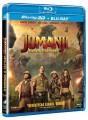 3D Blu-RayBlu-ray film /  Jumanji:Vítejte v džungli! / 3D+2D Blu-Ray