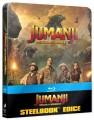 Blu-RayBlu-ray film /  Jumanji:Vítejte v džungli! / Steelbook / US Artwork