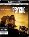 UHD4kBDBlu-ray film / Psycho / UHD+Blu-Ray