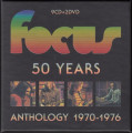 11CDFocus / 50 Years / Anthology 1970-1976 / 9CD+2DVD / Box