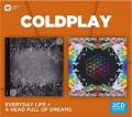 2CDColdplay / Everyday Life / Head Full Of Dreams / 2CD