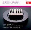 CDBrahms Johannes / Piano Concertos Nos.1,2 / Moravec