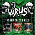 3CD / Virus / Scarred For Life / 3CD