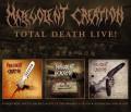 3CD / Malevolent Creation / Total Live Death! / 2021 Reedice / 3CD